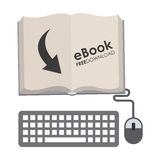 E-book Royalty Free Stock Photography