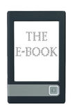 E-book reader Royalty Free Stock Photos