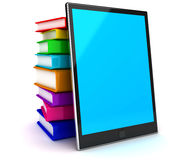 E-Book reader. This is a 3D rendered picture Royalty Free Stock Photo