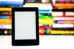E-Book reader Stock Images