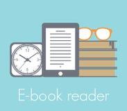 E-book reader concept Stock Photo