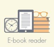 E-book reader concept Royalty Free Stock Photos