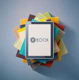 E-Book Royalty Free Stock Photo