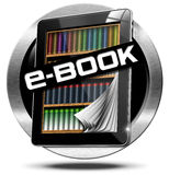 E-Book Symbol with Tablet Computer Stock Image
