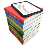 E-book and textbooks Stock Photos