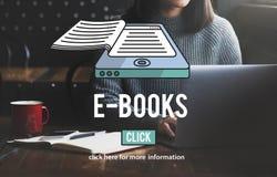 E-Books E-Reader Media Literature Innovation Technology Concept. E-Books E-Reader Media Literature Innovation Technology royalty free stock photography