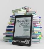 E-Buch Stockbild