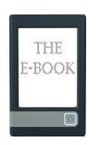 E-Buch Leser lizenzfreie stockfotos