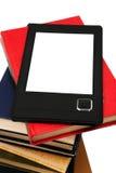 E-Buch und alte Bücher Stockbild