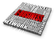 E-business. Group of e-business related words. Part of a series of business concepts Royalty Free Stock Images