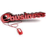 E-business Stock Foto