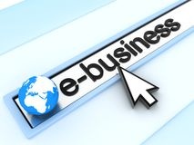 E-business Lizenzfreies Stockbild