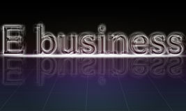 E-business Stock Photo
