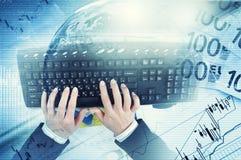 E-business concept Stock Image
