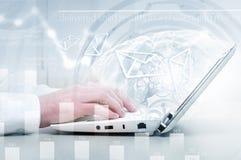 E-business concept Stock Photo