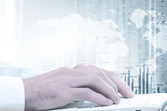 E-business concept Stock Photography