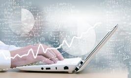 E-business concept Royalty Free Stock Photos