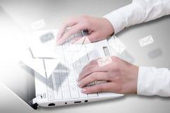 E-business concept Stock Photos