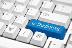 E-business concept image. Stock Images