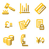 E-business icons Stock Image