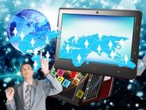 E-business. Internet Royalty-vrije Stock Afbeeldingen