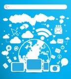 E-business technology Royalty Free Stock Photo