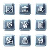 E-business web icons Stock Photos