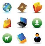 E-businessikonen lizenzfreie abbildung