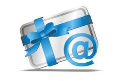 E-cartão Fotografia de Stock Royalty Free