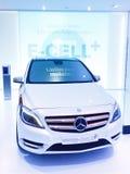 E-Cellule de B-Classe de concept de Mercedes-Benz plus Image libre de droits