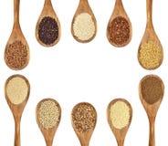 E cereali liberi del glutine Immagini Stock Libere da Diritti