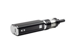 E-cigarette. Electronic cigarette isolated on white Royalty Free Stock Photos