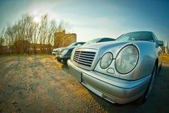 E-classe w210 de Mercedes Foto de Stock Royalty Free