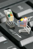 E- Commerce Photographie stock libre de droits