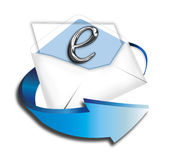 E-Commerce. Letter ready to send to your costumers Royalty Free Stock Photos