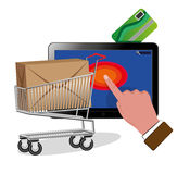 E-commerce Royalty Free Stock Images