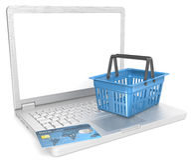 E-Commerce. Stock Photos