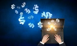 E-Commerce als Konzept stockfotos