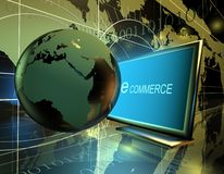 E commerce business Royalty Free Stock Image