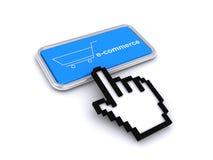 E-commerce button Stock Images