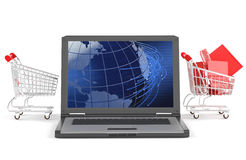 E-commerce concept Stock Image