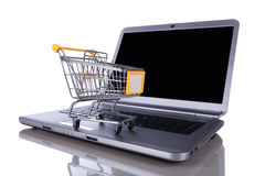 E-commerce concept Royalty Free Stock Images