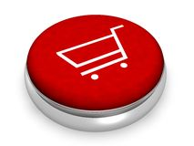 E-Commerce Concept. I n3D Royalty Free Stock Photos