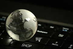 E-Commerce Concept stock image