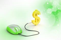 E- commerce concept Stock Images