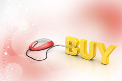 E- commerce concept Royalty Free Stock Photography