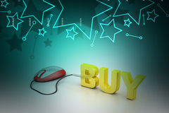 E- commerce concept Royalty Free Stock Image