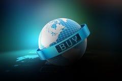 E-commerce concept Stock Photography