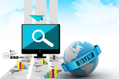 E-commerce concept Royalty Free Stock Photo