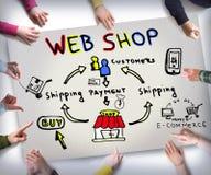 E commerce concept Stock Photo